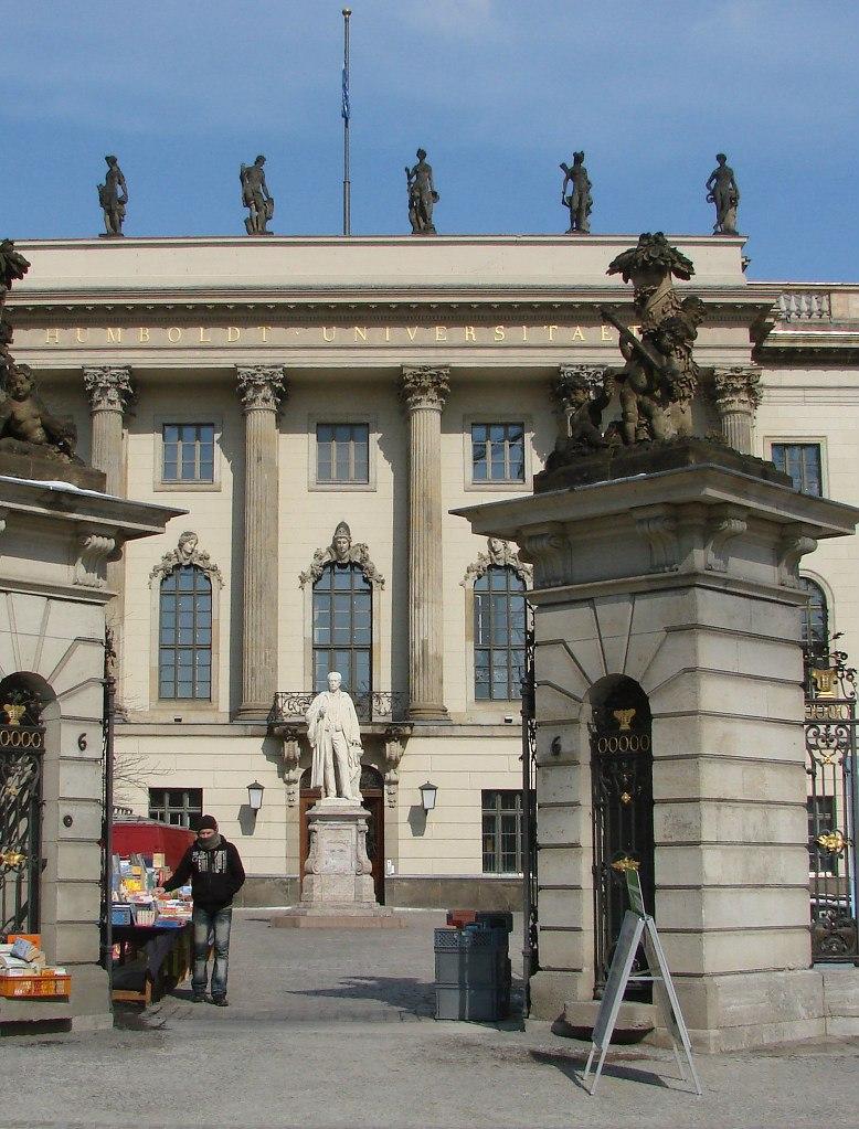 Берли́нский университе́т и́мени Гу́мбольдта —  старейший из четырёх университетов Берлина.  Основан 16 августа 1809 года по инициативе  Вильгельма фон Гумбольдта.