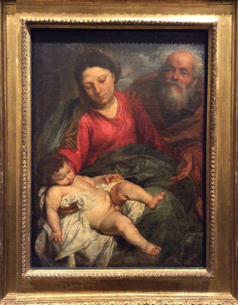 """Антон ван Дейк (1599 - 1641). """"Святое семейство"""". 1624. Последняя картина из ризницы, которую я покажу..."""