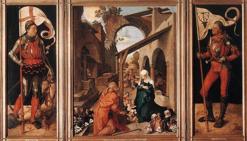 Альбрехт Дюрер. Алтарь Паумгартнер. 1505