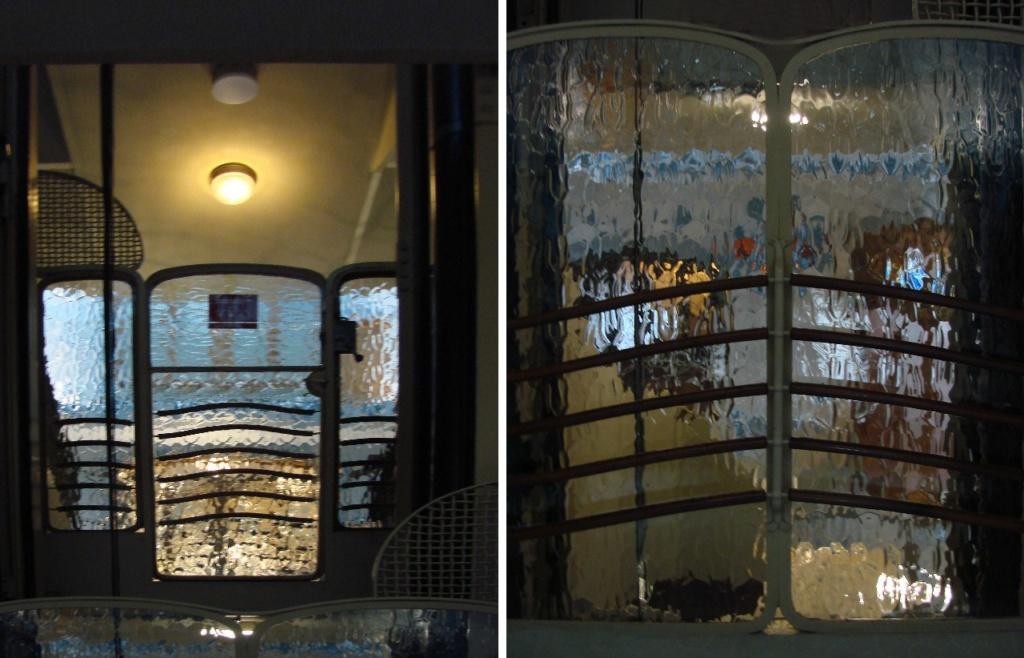 Барселона. Каса Бальо. Антонио Гауди. 1906. Слева - сочетание реальности и иллюзорности. Справа - иллюзорность в своей самодостаточности.
