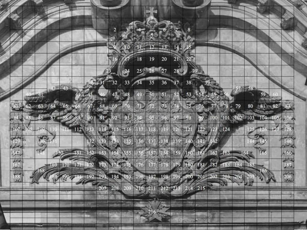 Графическая подготовка к реконструкции-реставрации Шлютерова дворца по сохранившимся архитектурным обломам, очень редким, довоенным фотографиям и современным логическим выводам.