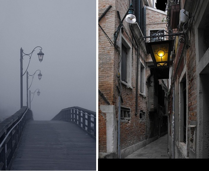 """Венецианские """"недра"""", подающие надежду """"чужеземцам, попавшим в капкан"""" - попавшим в городом устроенную ловушку..."""