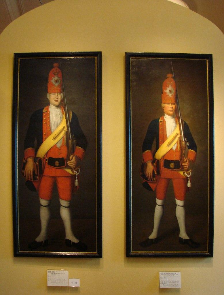 Портреты гвардейцев-великанов мы увидели в Музее немецкой истории. Впечатление они произвели на нас столь же огромное.