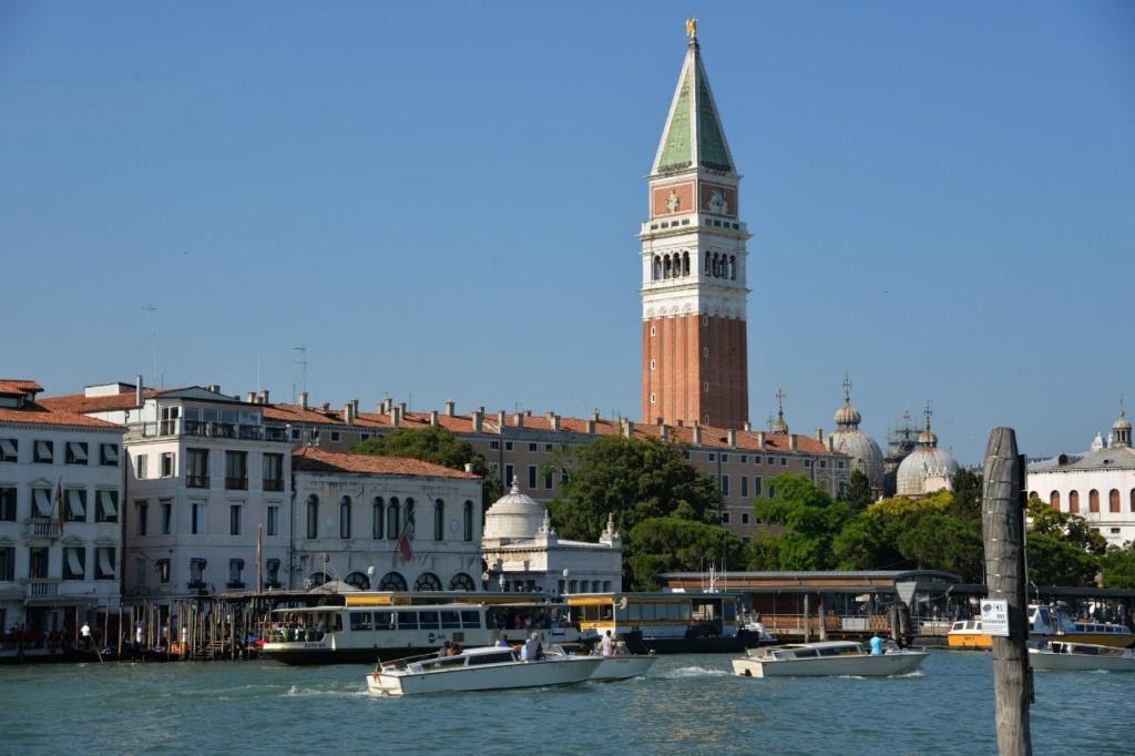Спасибо Хозяйке Венеции - кампаниле Сан-Марко, что разрешила полетать над городом.