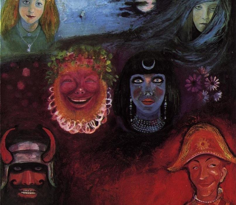Имя автора картины и название ее мне неизвестны, но притягивает она меня несказанно. Мне кажется, на ней изображены образы, уже мучающие Ашенбаха: рыжий Вакх, Никта - богиня Ночи, мать Танатоса - бога Смерти, демоны Силы и Слабости, Тьмы и Света...
