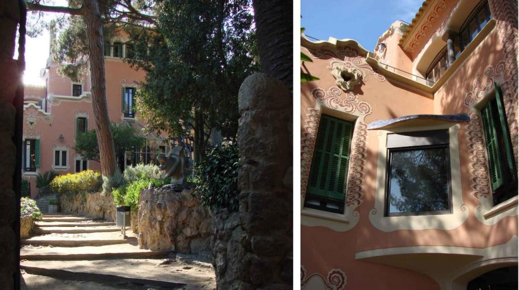 Третий участок, тоже купленный Гуэлем, был предложен Гауди. Дом построен по проекту Франческо Беренгера.