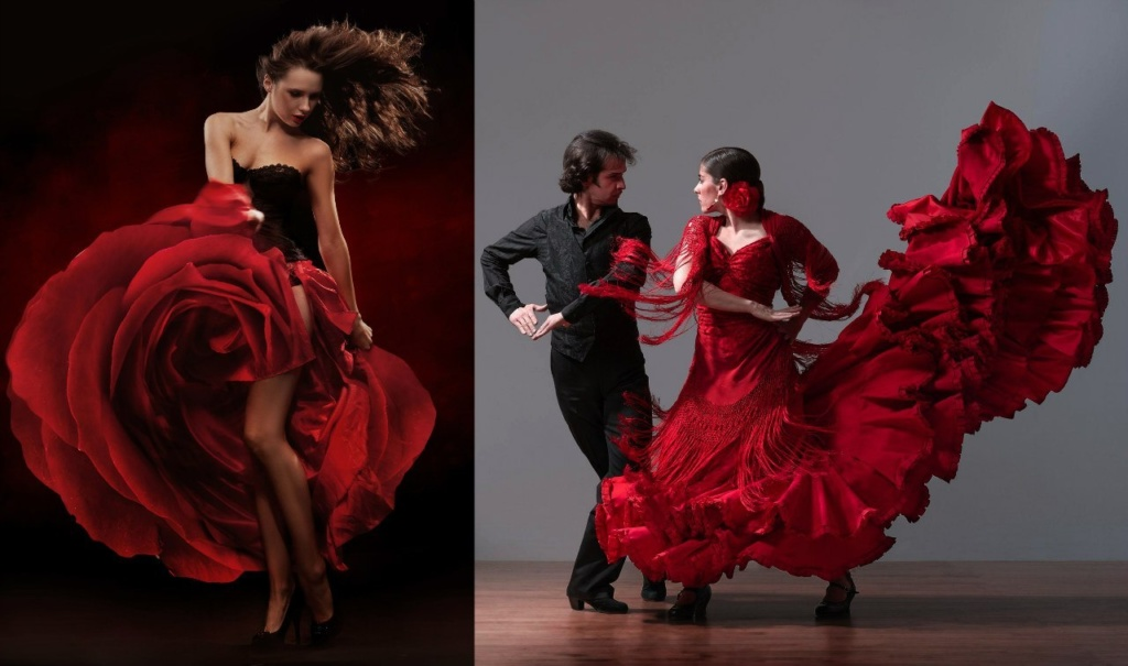 Фламенко - зажигательный танец Испании, ее душа. Эмоциональное. Страстное. Ритмичное. Фламенко — это путь, который ведет к внутреннему освобождению и радости, хотя внешне он пропитан грустью и состраданием.