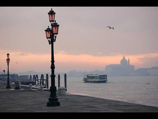 Рассвет в Венеции...