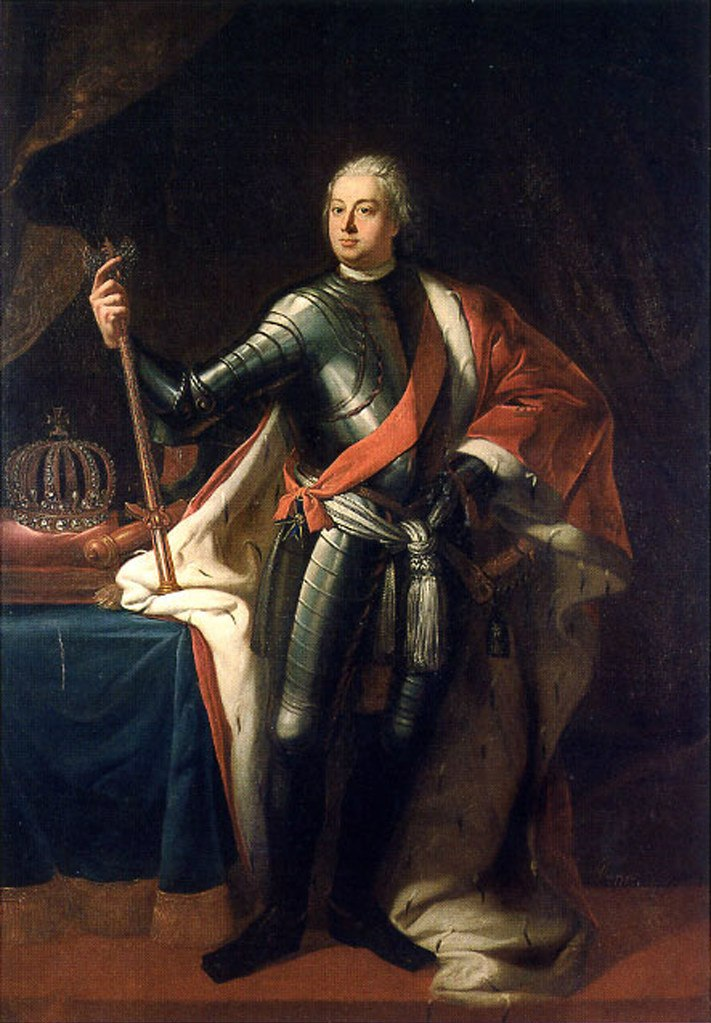 """Прусский """"король-солдат"""" был счастливее Петра Первого.. История не позволила ему убить престолонаследника, ставшего Фридрихом II Великим, продолжившим его дело в цивилизованном русле..."""