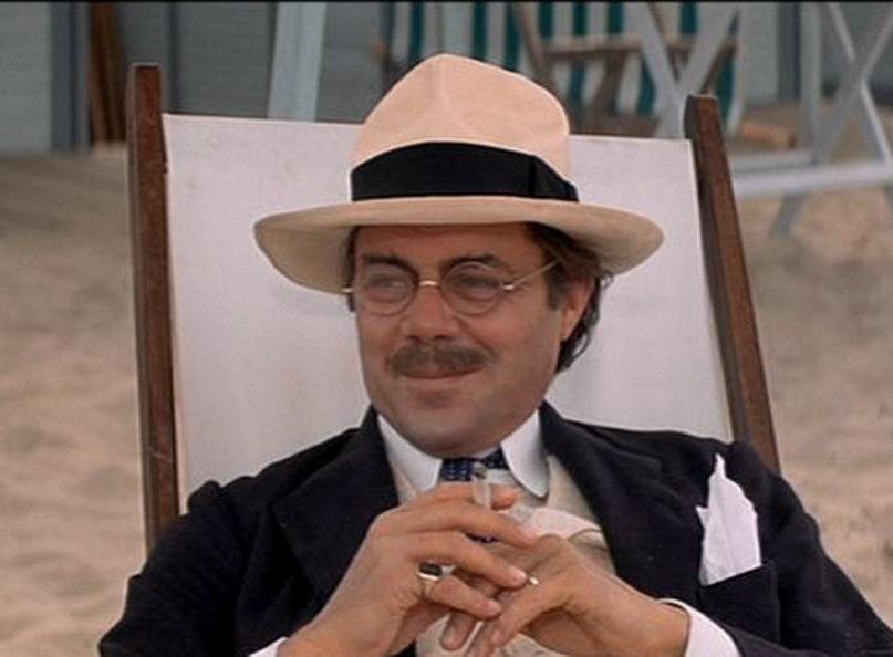 """Фильм Лукино Висконти """"Смерть в Венеции"""". Упования фон Ашенбаха. Английский актер Дирк Богард играет мимикой, у него почти нет монологов."""