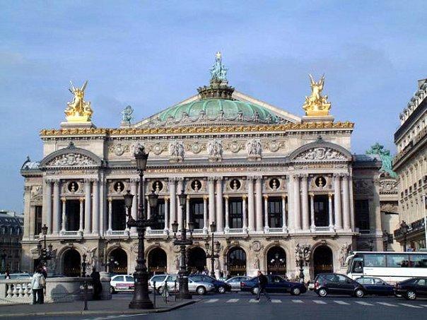 Гранд-Опера. Арх. Шарль Гарнье. 1862-75