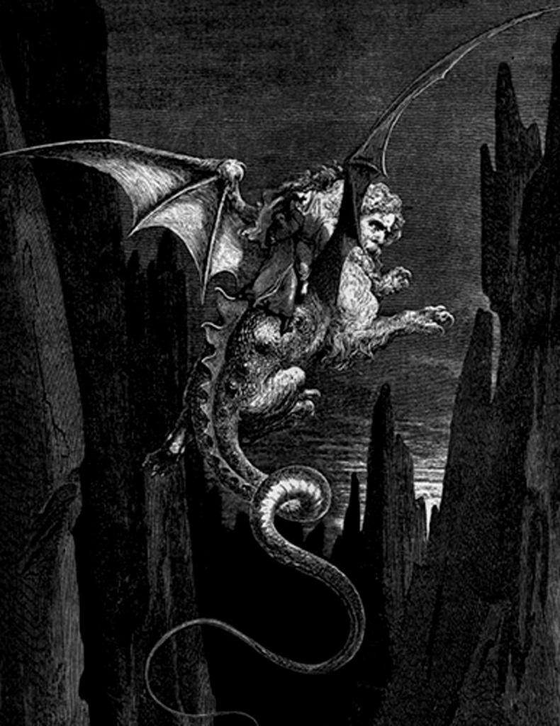 """Гравюры Г. Доре к """"Божественной комедии"""" Данте. (Inferno). 1860-е годы"""