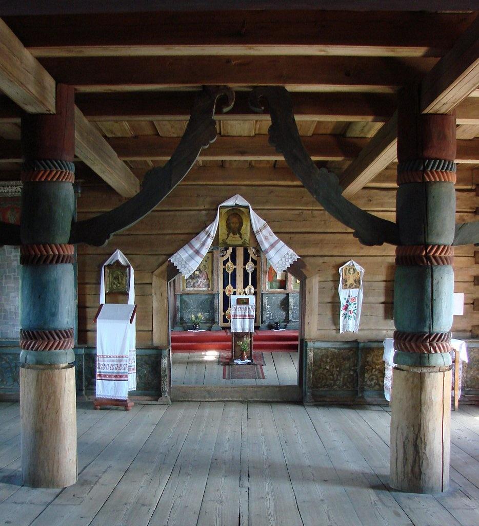 Успенская церковь в Кондопоге. Трапезная