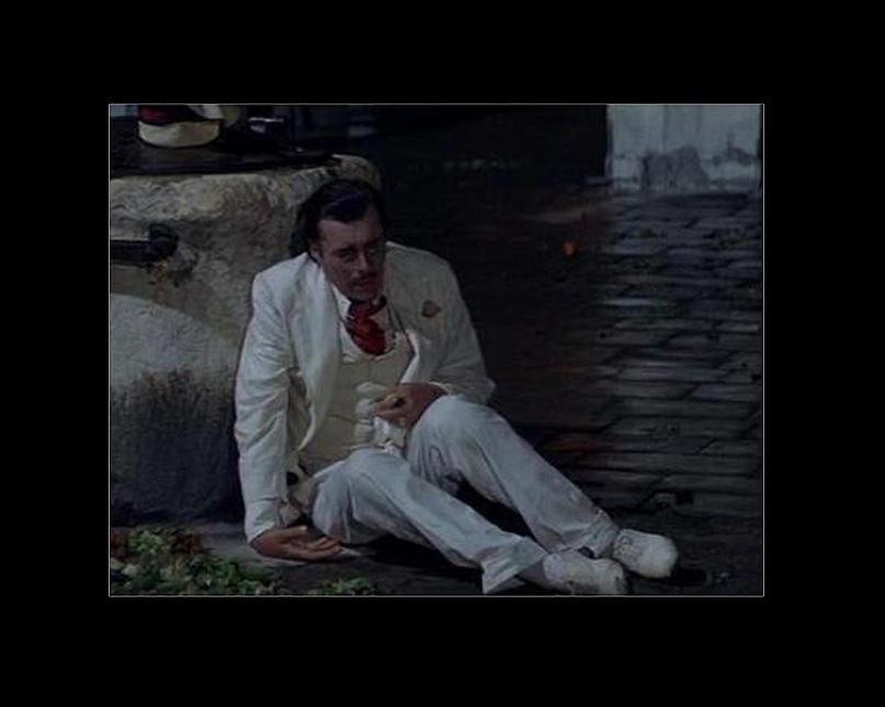 """Последняя сцена у фонтана. Фильм Лукино Висконти """"Смерть в Венеции""""."""