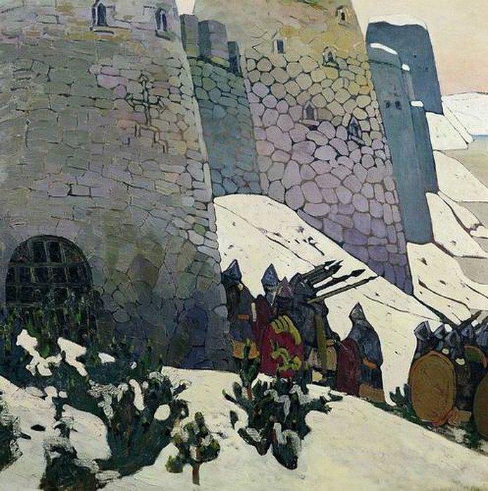 Н. К. Рерих. Изборск. Дозор. 1900-е
