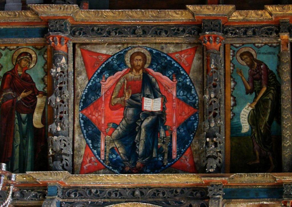 Церковь Успения в Кондопоге. Молельный зал. Иконостас