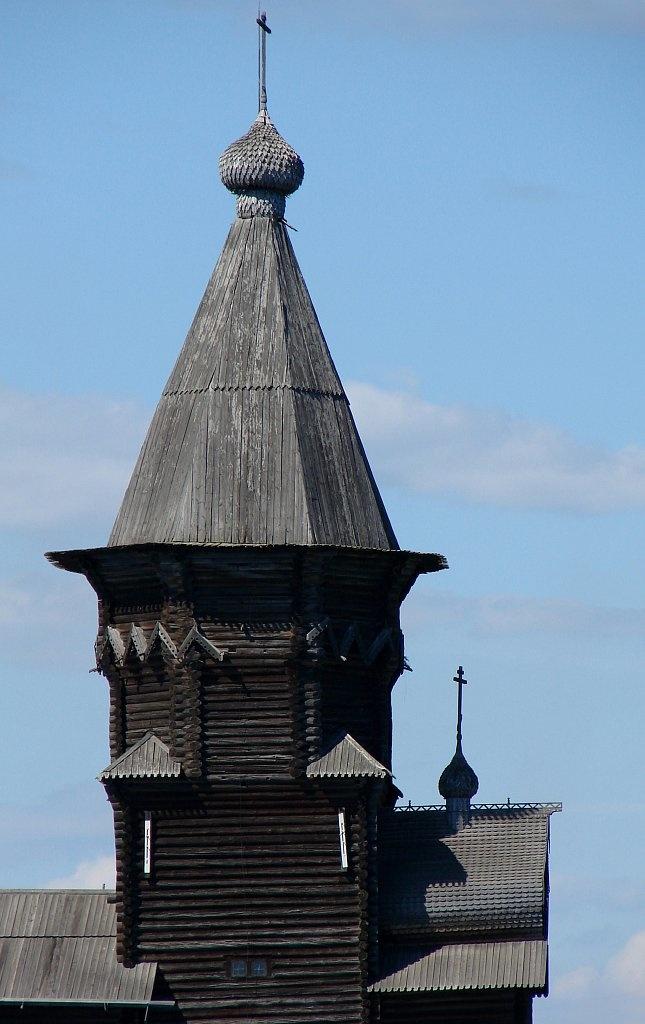 Шедевр Деревянного зодчества - церковь Успения в Кондопоге