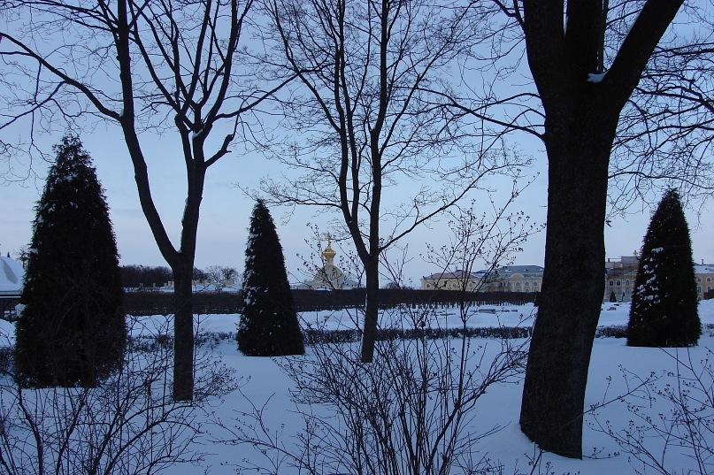 Верхний сад Большого Петергофского дворца Фотографии с 3 по 18 выполнены Мариной Бреслав.