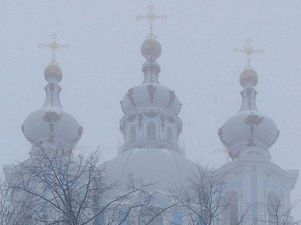 Санкт-Петербург. Смольный монастырь. Воскресенский собор.