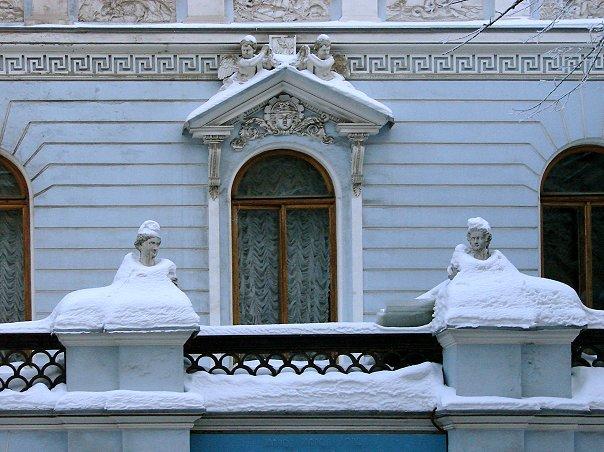 Дом композитора. Бывший дом Демидова. Большая Морская ул, 45. Арх. О. Монферран. 1830-е