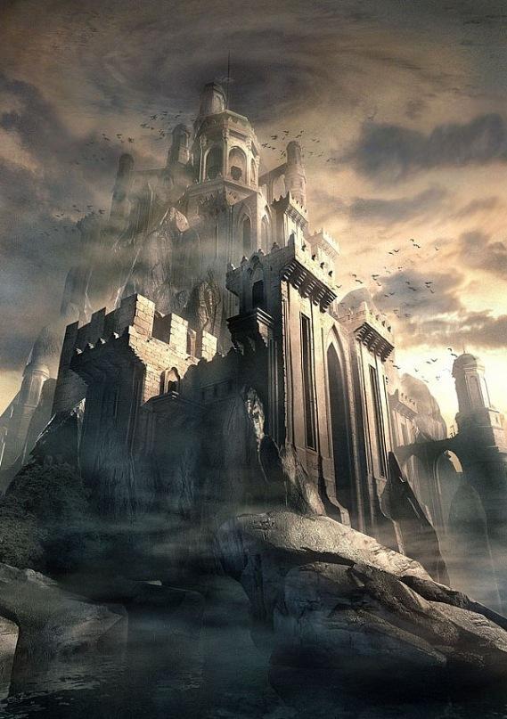 Рафаэль Лакоста. Замок, устремленный в Небо...
