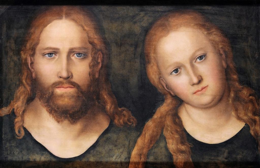 Христос и Богоматерь (1516-1520) (Гота, дворец Фриденштей)