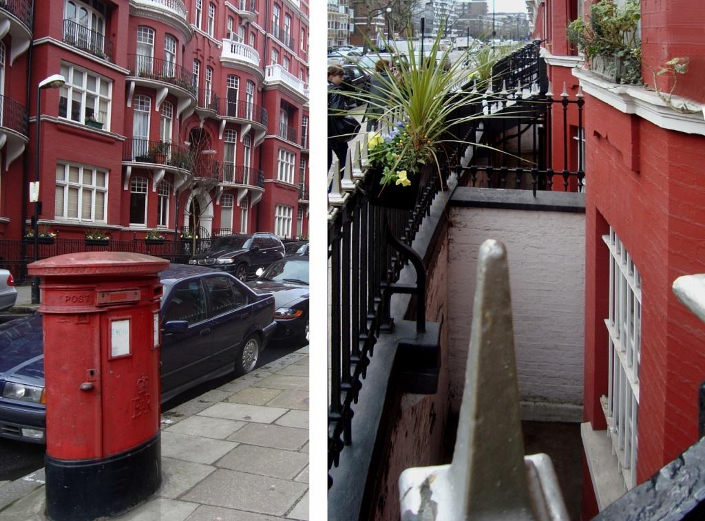 Похоже, лондонцы очень любят красный цвет...