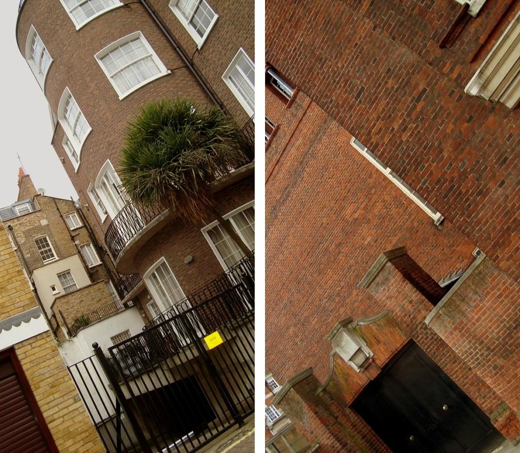 Лондон. Кирпичная архитектура