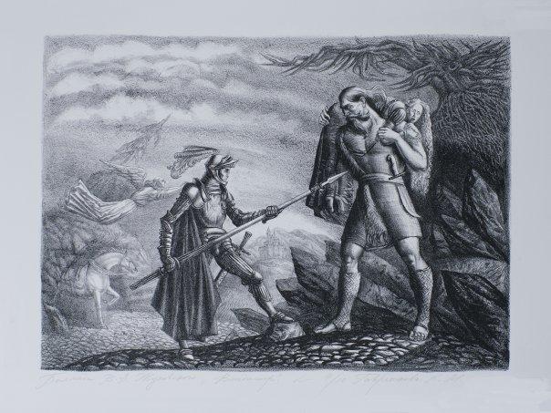 Баллады Жуковского. Вадим. 1814 - 1817