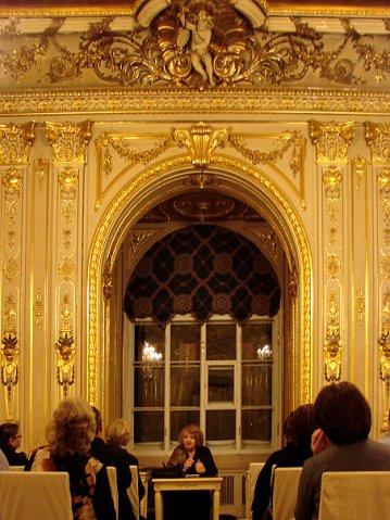 Особняк Половцова на Большой Морской. Белый зал в стиле Людовика XV. Арх. Г. А. Боссе. 1860-е г.г.