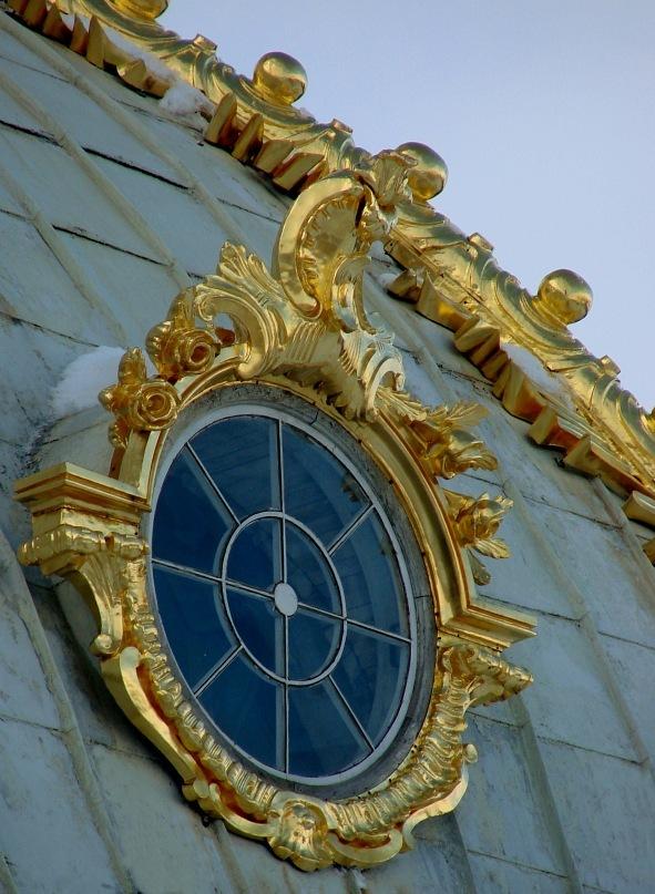 """Большой Петергофский дворец. """"Павильон под орлом"""". Арх. Франческо Бартоломео Растрелли. 1745-1755 годы"""