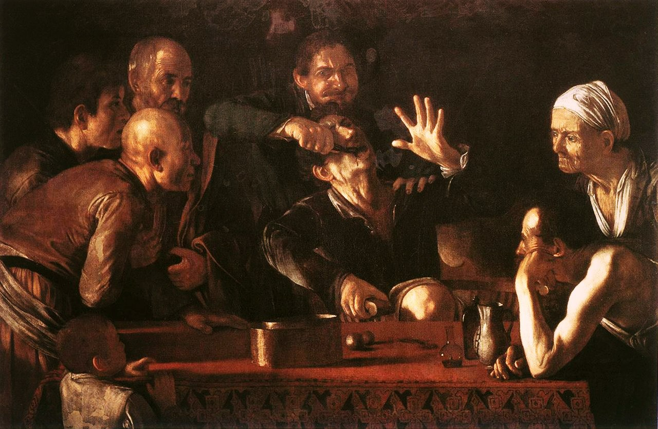 caravaggggio work How can the answer be improved.