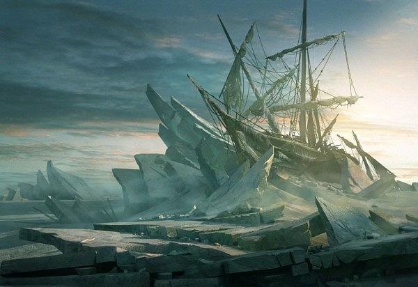 Рафаэль Лакоста. Видения льдов в Антарктиде...
