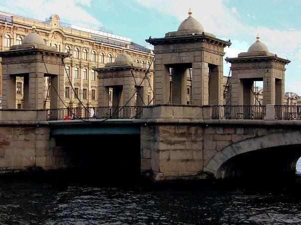 Чернышев мост. Инж.: И. К. Герард и П. С. Сухтелен. 1780-е