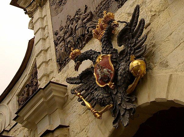 Петровские ворота, ведущие в Петропавловскую фортецию, что никогда не стреляла по врагу, сразу же тюрьмой стала...