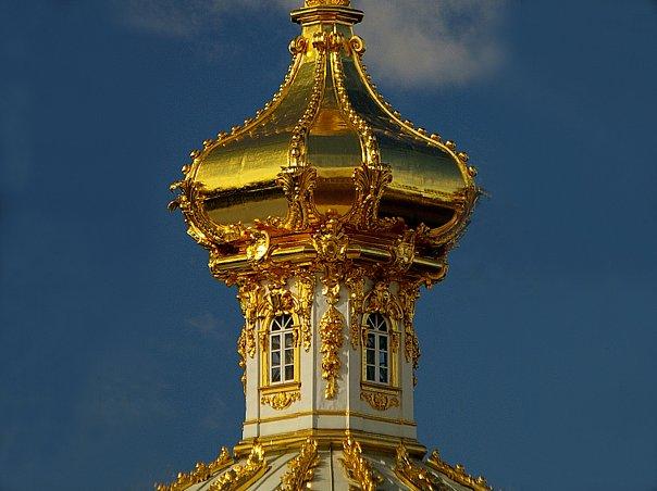 Большой Петергофский дворец. Павильон под орлом.