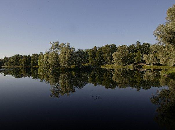 Гатчинский парк - творение Северной природы и итальянца по происхождению архитектора Антонио Ринальди...