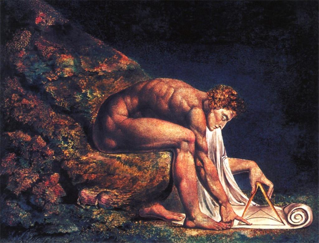 """Ньютон"". Автор Уиьям Блейк"