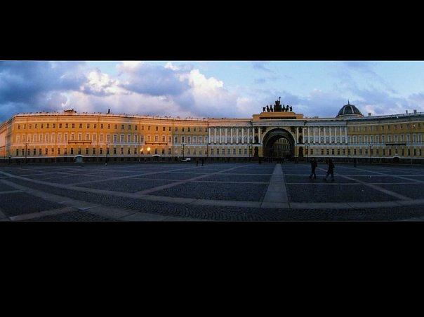 Главный штаб на Дворцовой площади. Архитектор Карл Росси