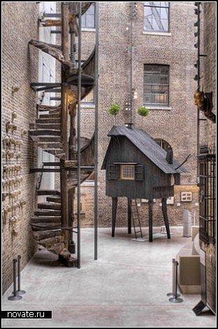 Лондон в районах старых доков обживается...