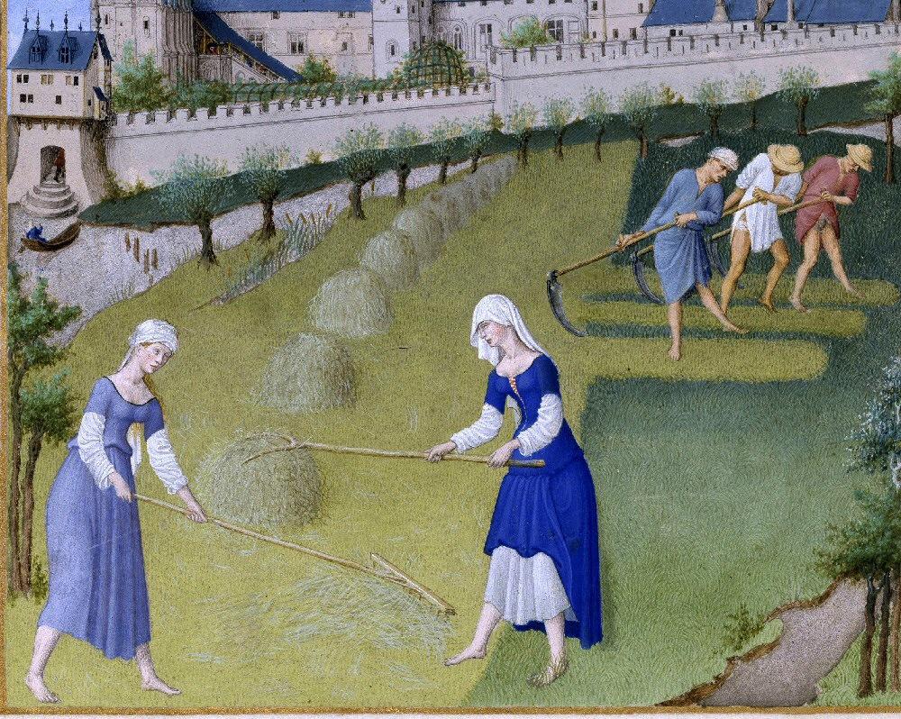картинки крестьян средневековья расскажем покажем, как
